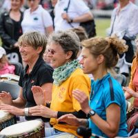 Drum Circle Berlin - Tempelhofer Feld 2016-13707719