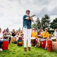 Drum Circle Berlin - Tempelhofer Feld 2017-212